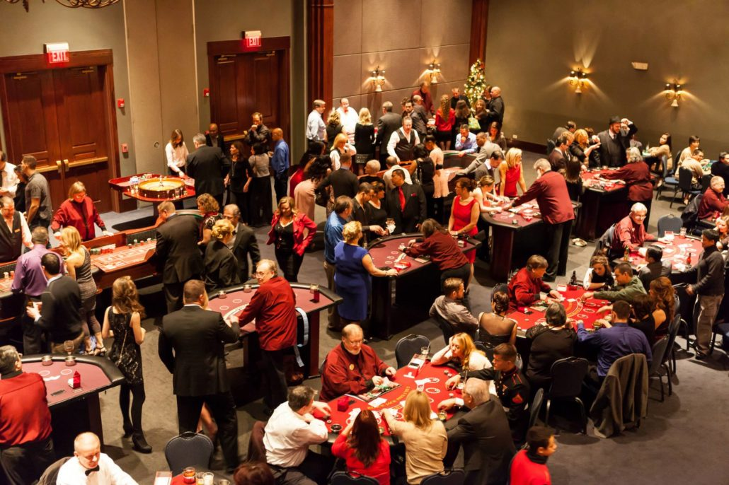 large casino party event