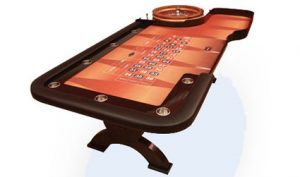 roulette table from casino party experts